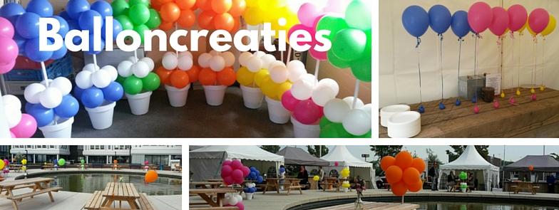 Balloncreaties mogelijkheden en opties