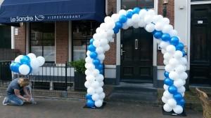 ballonnenboog-bruiloft-Leeuwarden