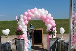 Ballonnenboog Enkele deur