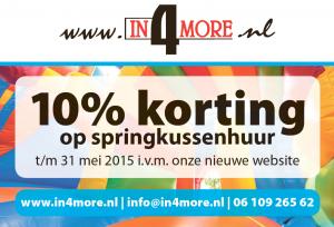 in4more-kortingsactie-10%-korting-in-2015