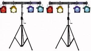 discolampen-statief-huren-4-spots