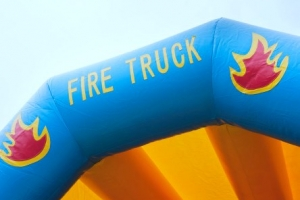 Springkussen Brandweer