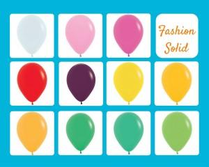 kleuren-fashion-solid-standaard-ballonnen