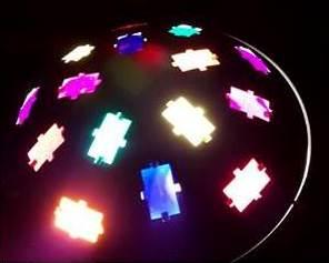 lichtgevende-discolamp-gebruiken-voor-feest