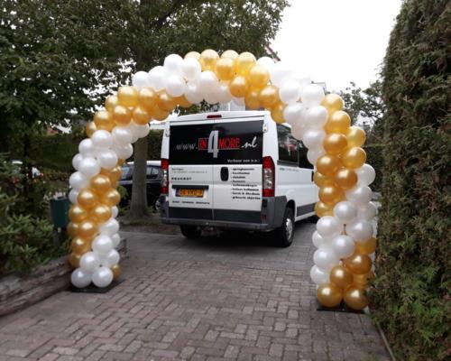 Ballonnenboog Dubbele deur